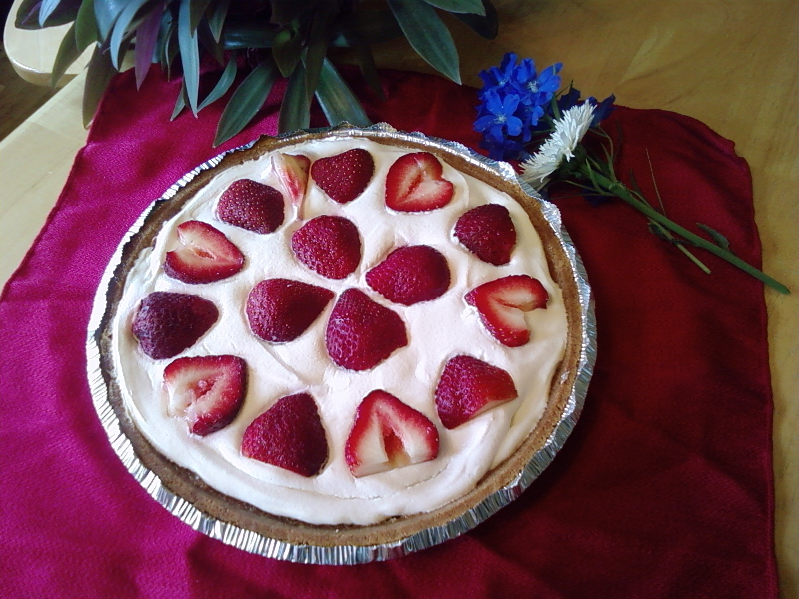 Fourth of July Buttermilk Pie Recipe