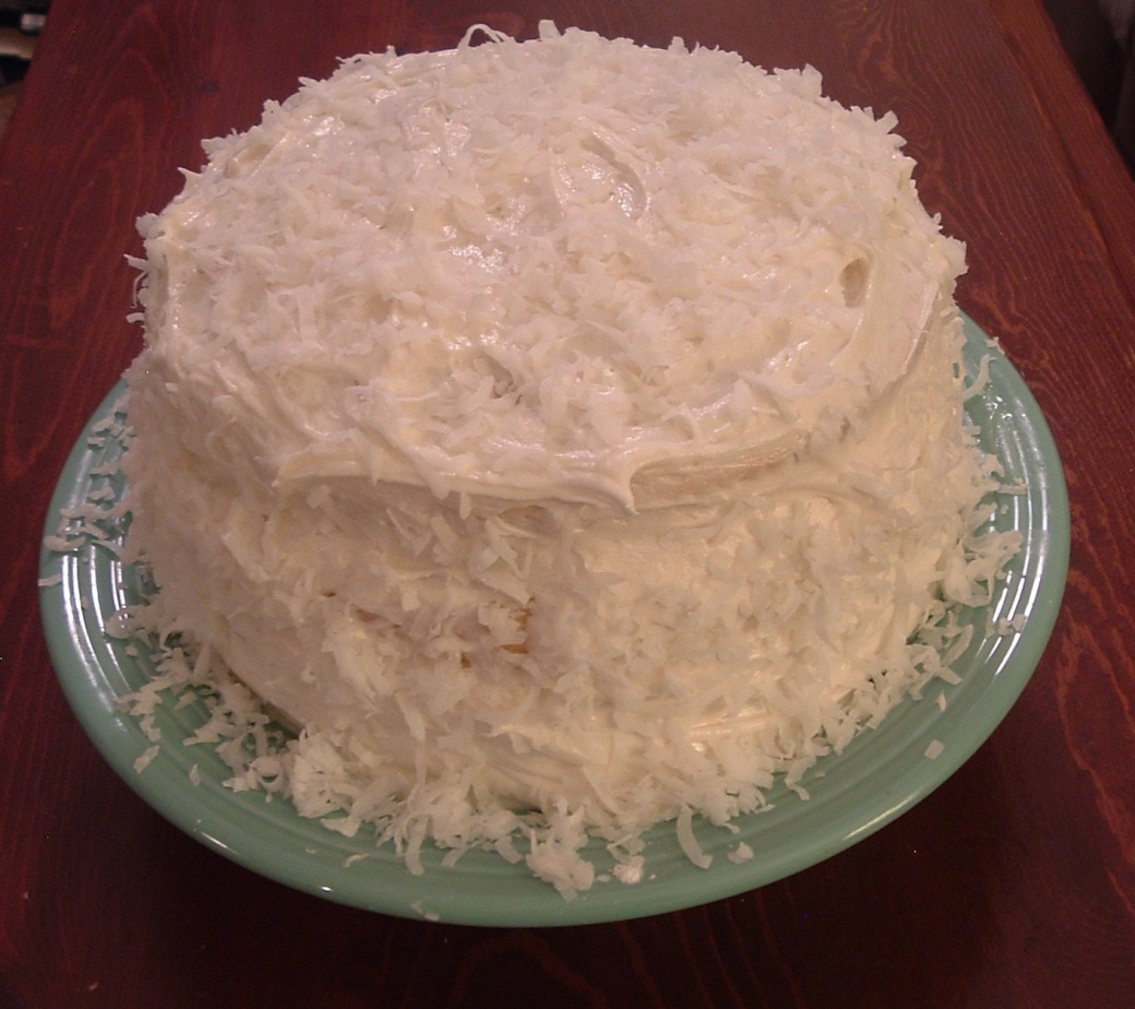 Coconut Lemon Cake c2011 W4DS
