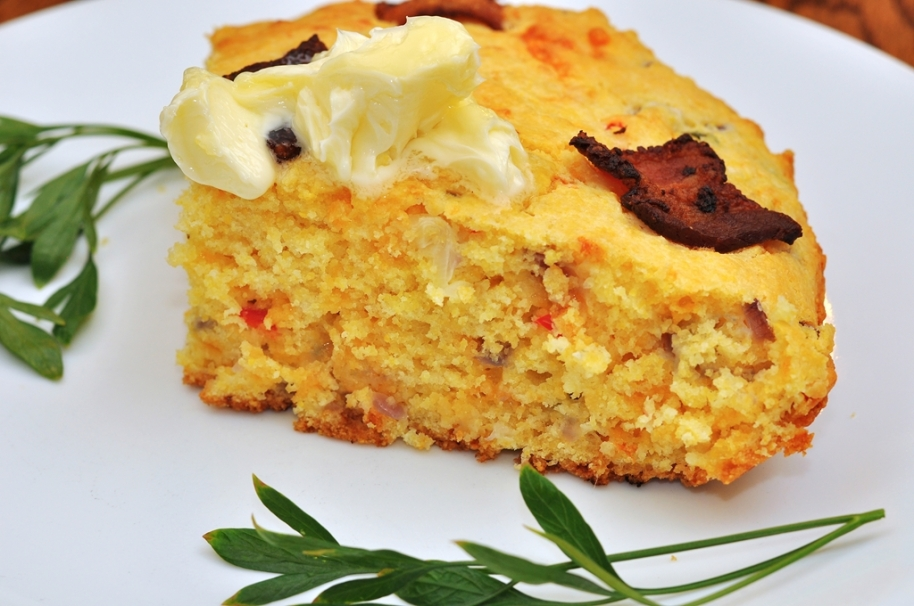 Mmm…bacon cheddar jalapeno cornbread | What's 4 Dinner Solutions