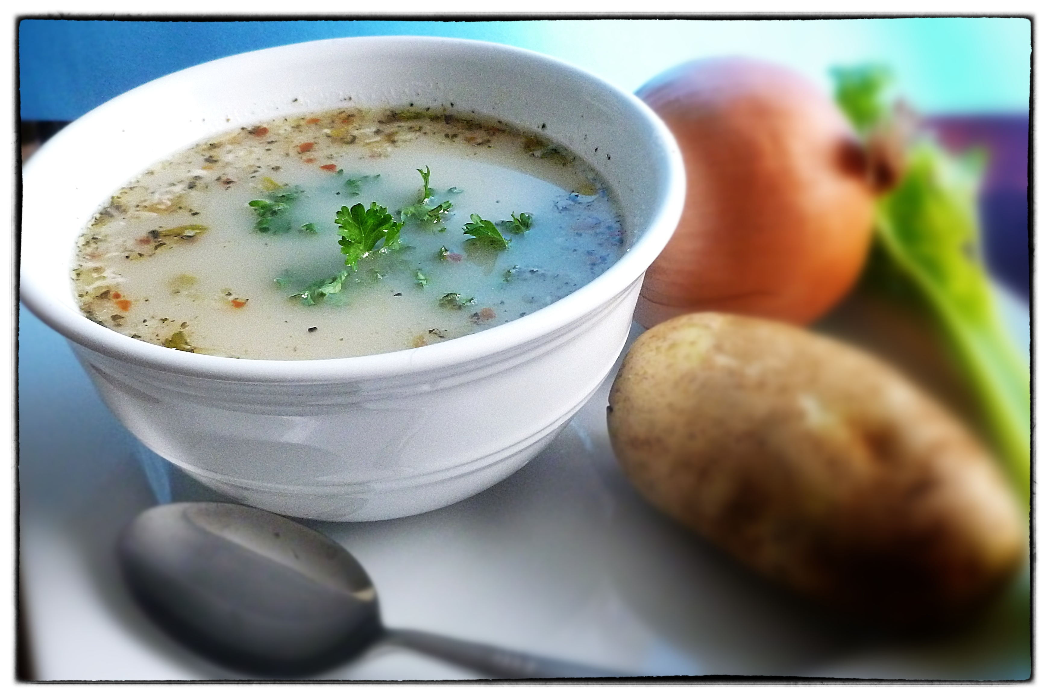 Spicy Potato Soup and an Announcement | What's 4 Dinner Solutions