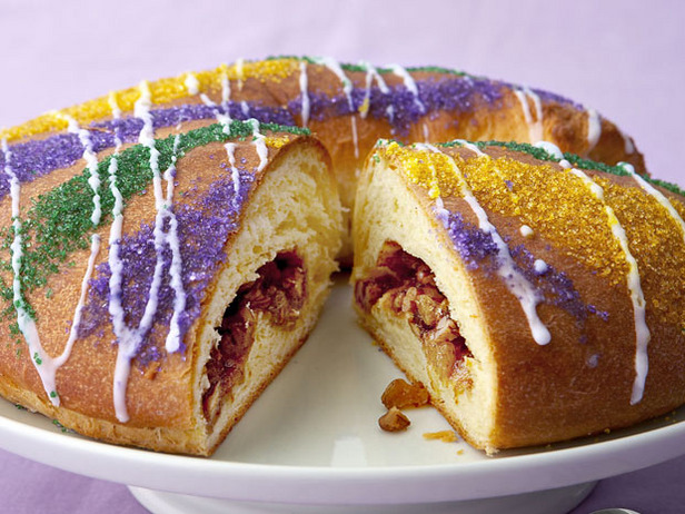 King Cake from FoodNetwork.com