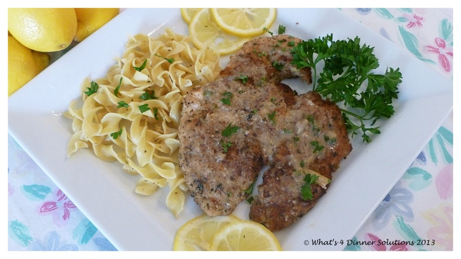 Chicken Piccata W4DS