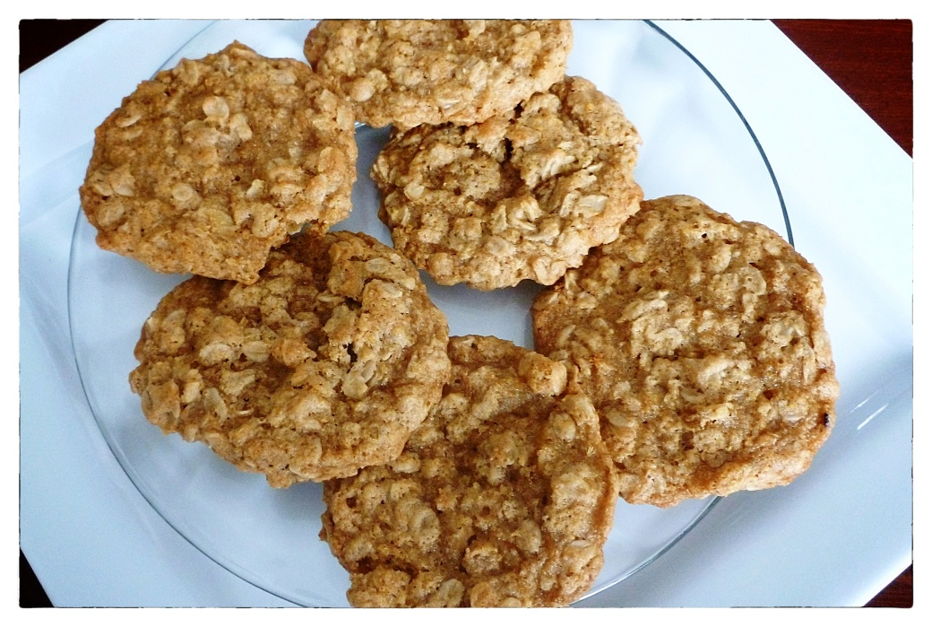 Oatmeal Cookies Final