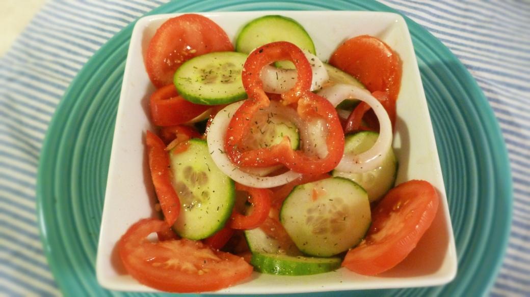 Cucumber Salad Fina