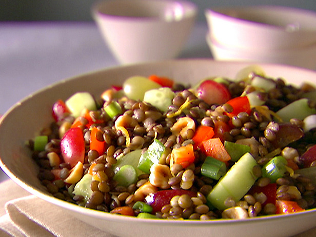 Spring Recipes:  Luscious Lentil Salad