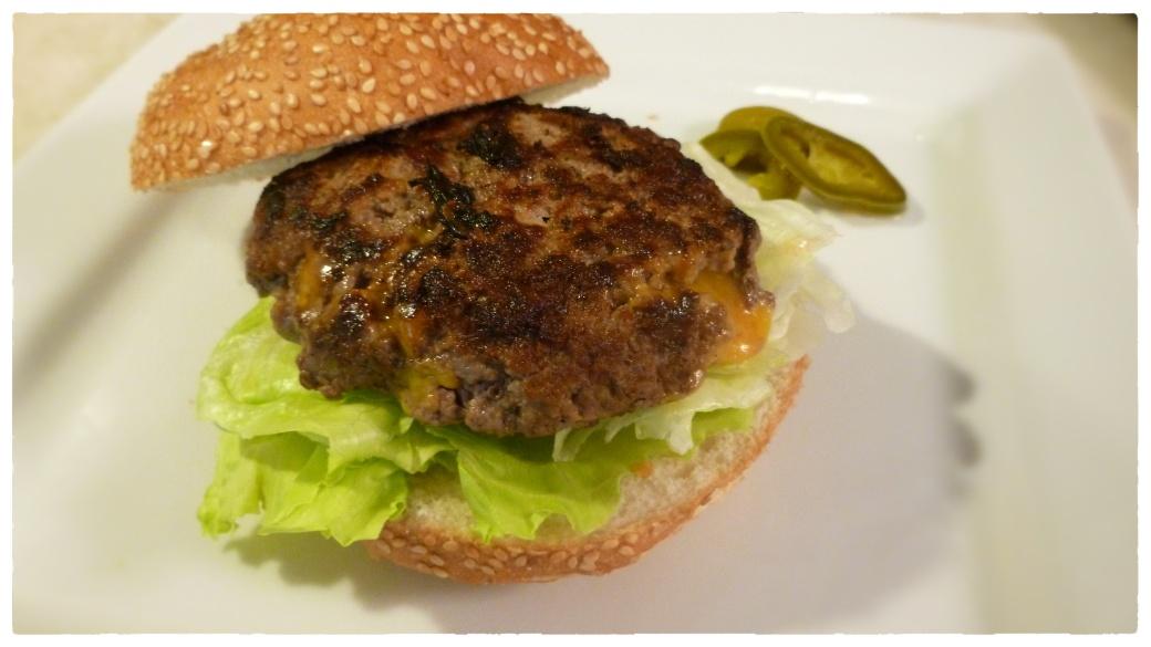 Stuffed Burger Uncut Snap