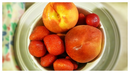 Peaches and Strawberries 2
