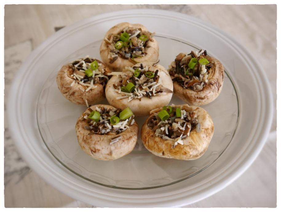 Stuffed Mushroom Appetizers