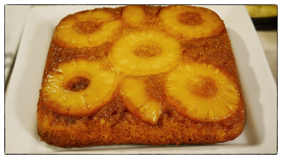 pineapple upside down cake final