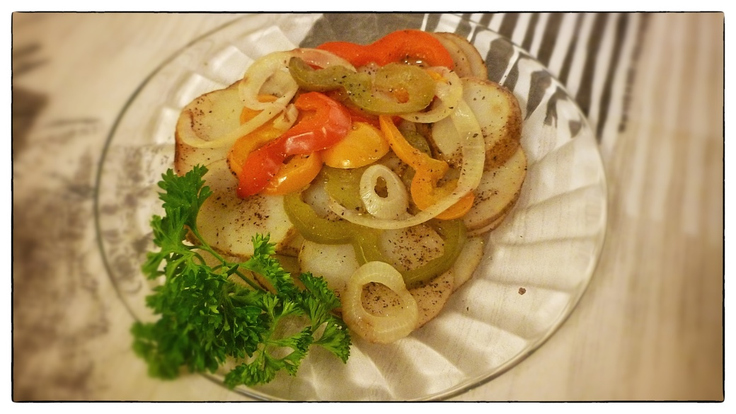 Grilled Potatoes and Peppers3
