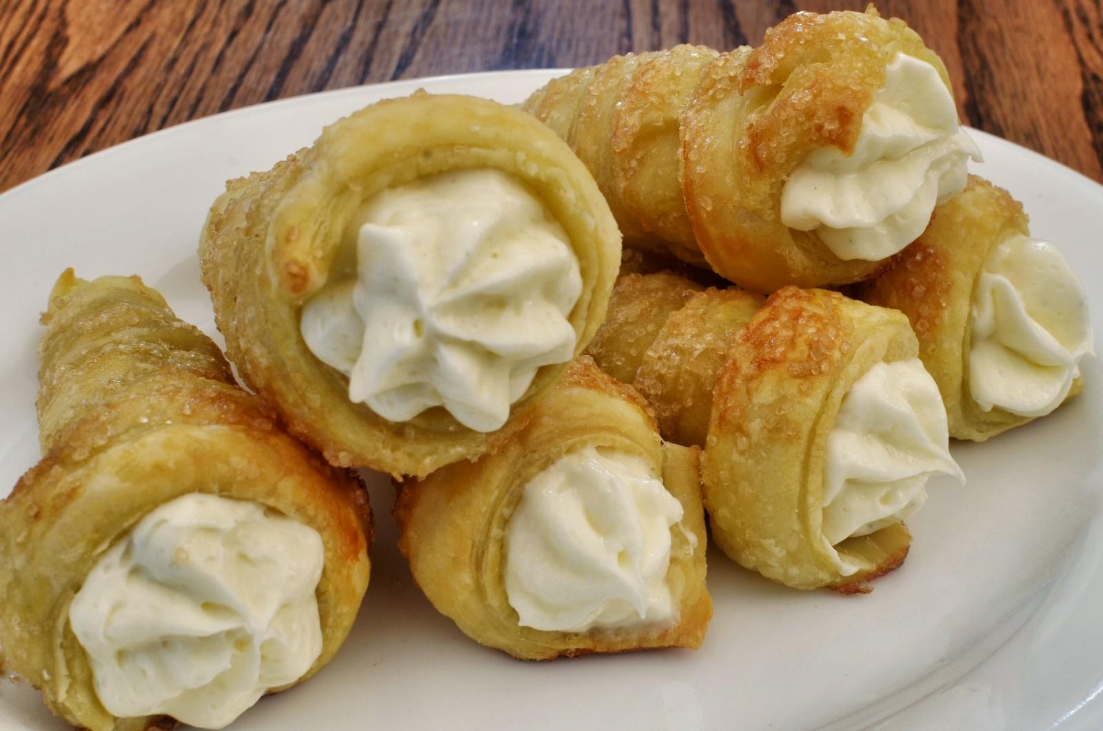 Pastry Pr0n – Cream Horns | What's 4 Dinner Solutions Horns Recipe