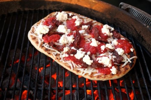 Pizza on the coals from Serious Eats