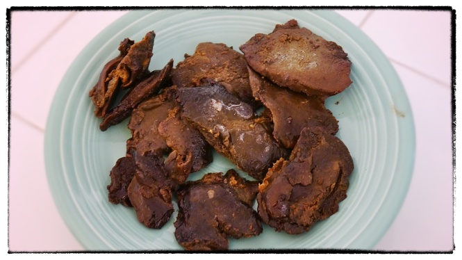 Sorry, not much I could do to make dried liver look good. :-(
