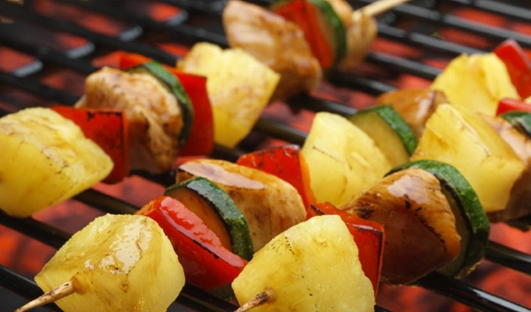 ... strawberry kabobs grilled chicken fajita kabobs chicken kabob recipe
