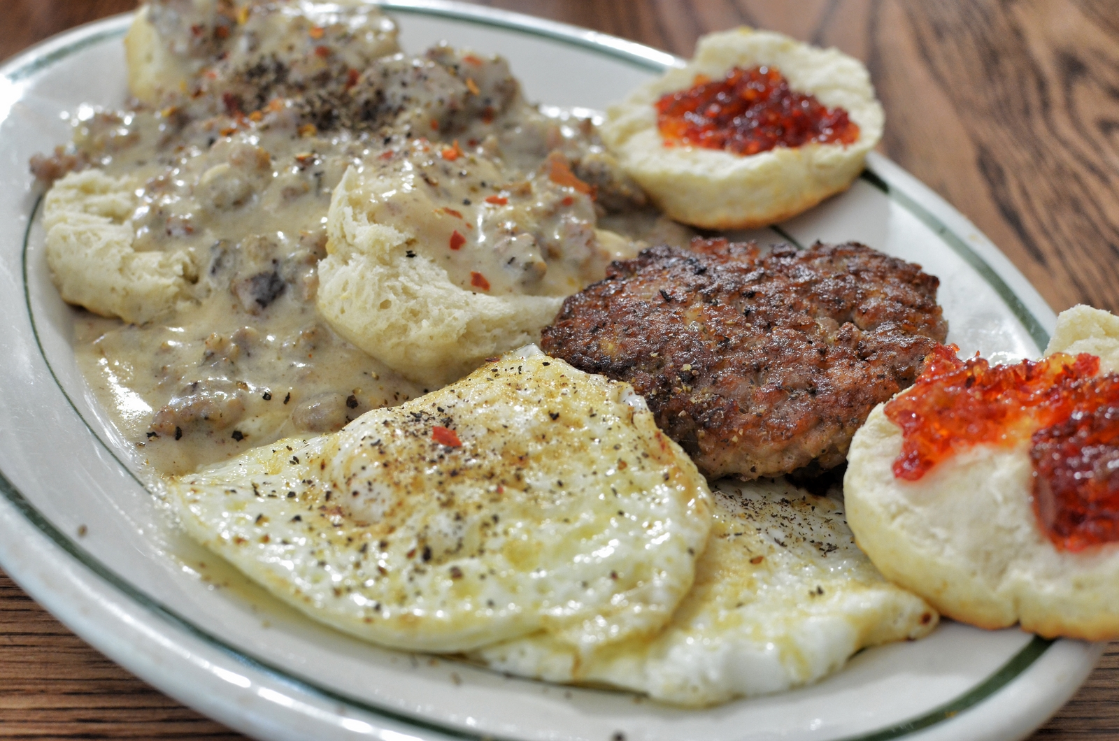 Breakfast Pr0n – Biscuits and Gravy | What's 4 Dinner Solutions