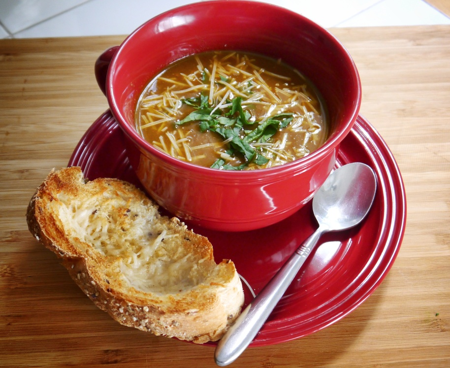 Spinach Tomato Soup