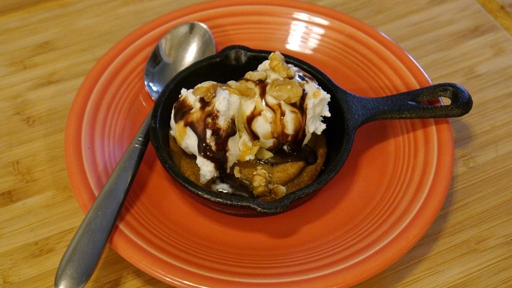 Cookie sundae