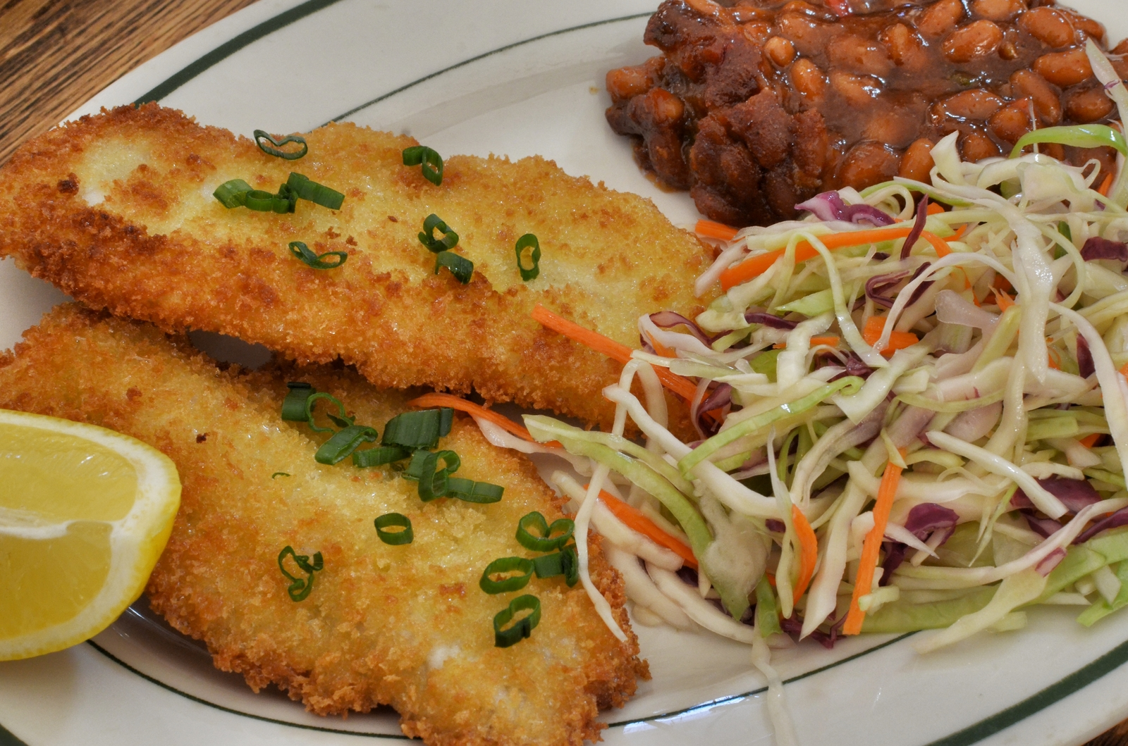 Fried fish fillets largemouth black bass what 39 s 4 for Fried fish fillet