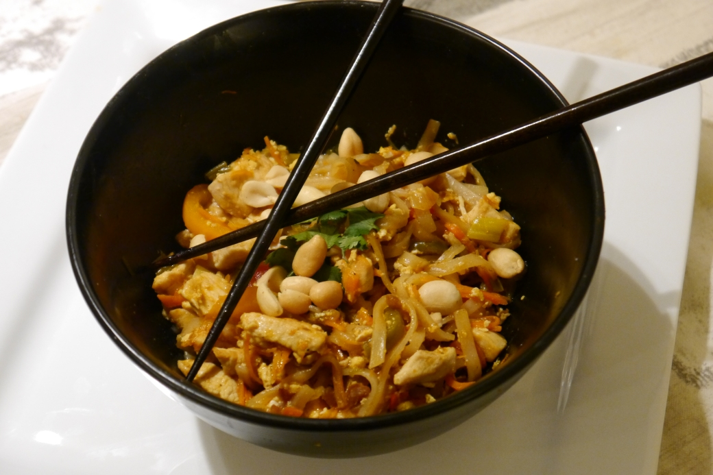 I made my first Pad Thai!